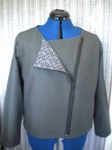Wendy Ward zipped jacket