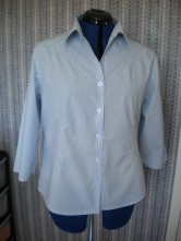 Paul Smith blouse with tucks