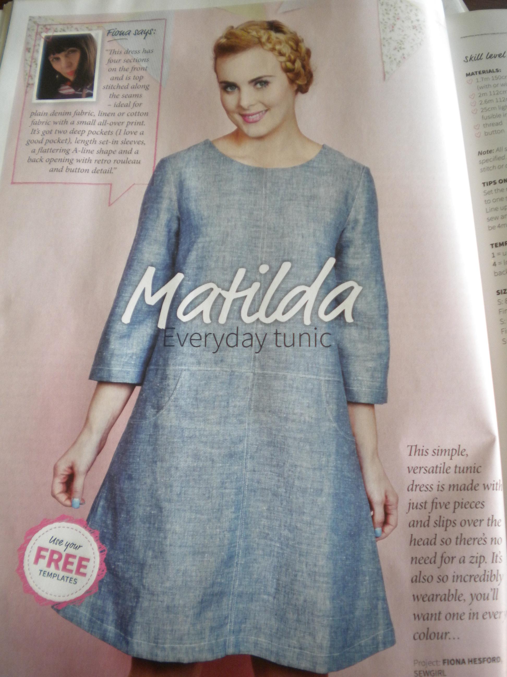 Matilda Tunic Dress | All My Own Work By Ann