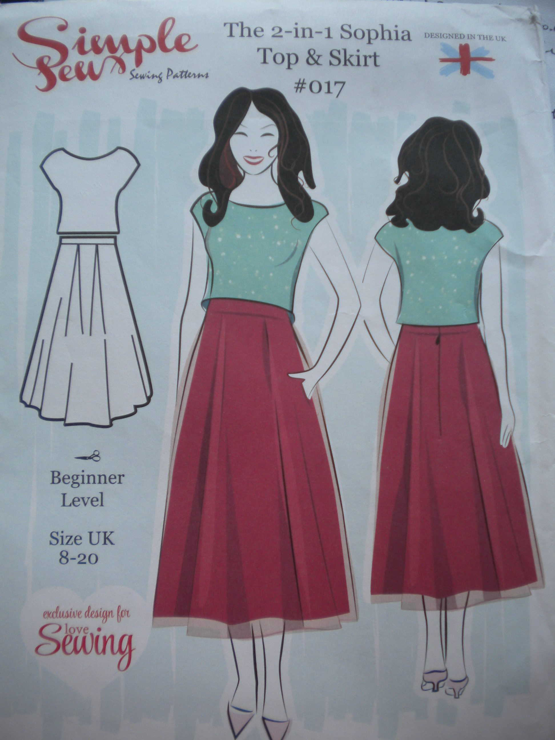 Simple Sew Sophie Skirts | all my own work by ann