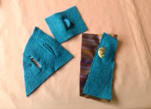 Trial buttonholes