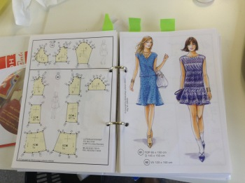 Drop waist dress pattern